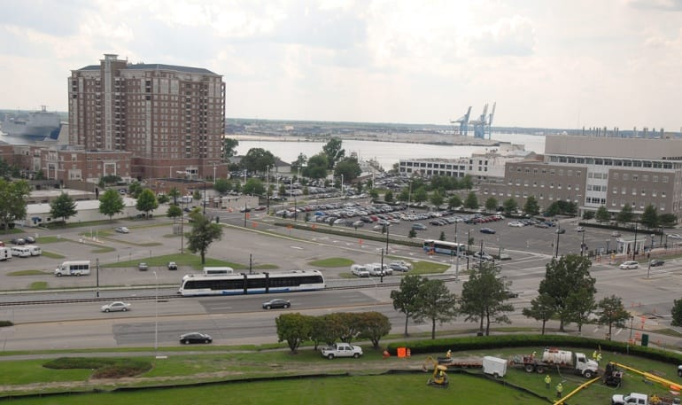 City view of our apartments in Norfolk, Virginia