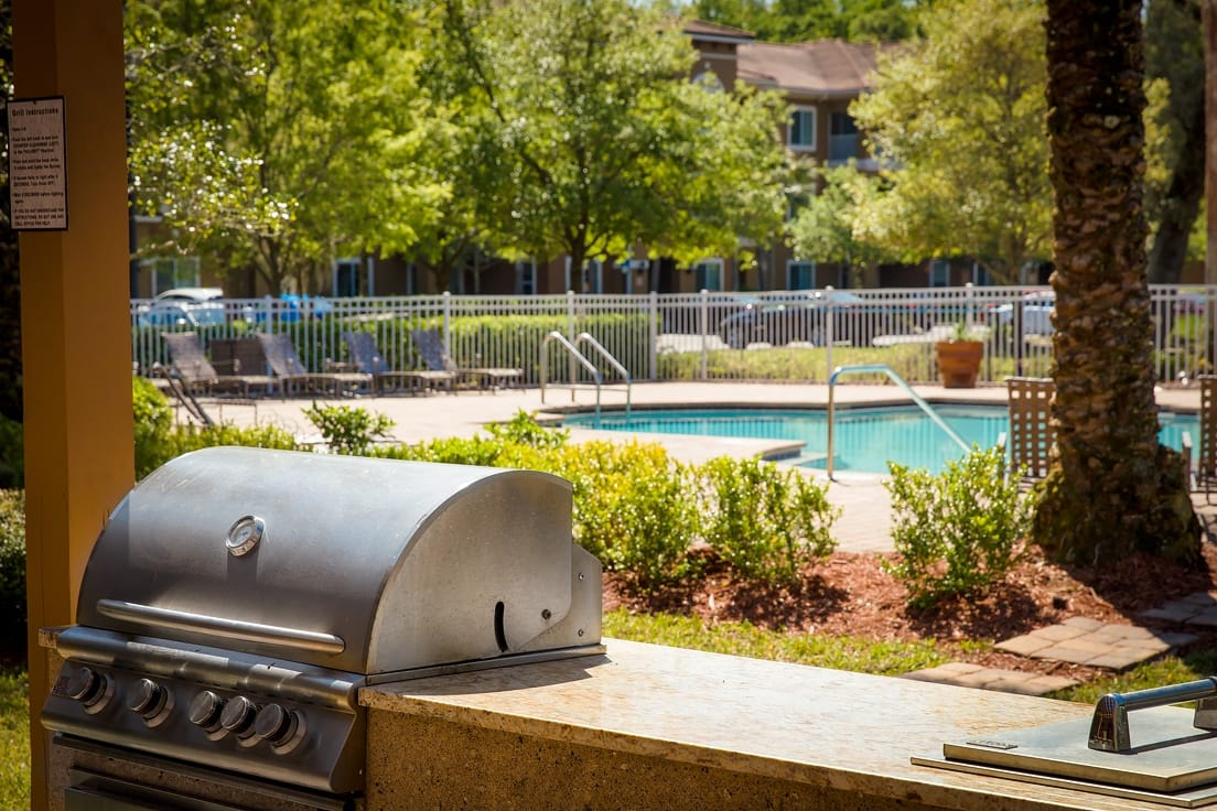 Florida Club at Deerwood offers a BBQ Area in Jacksonville, Florida