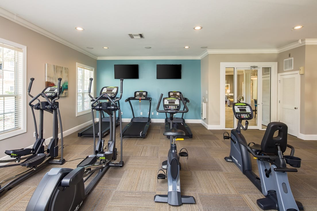 Fitness Center at Florida Club at Deerwood