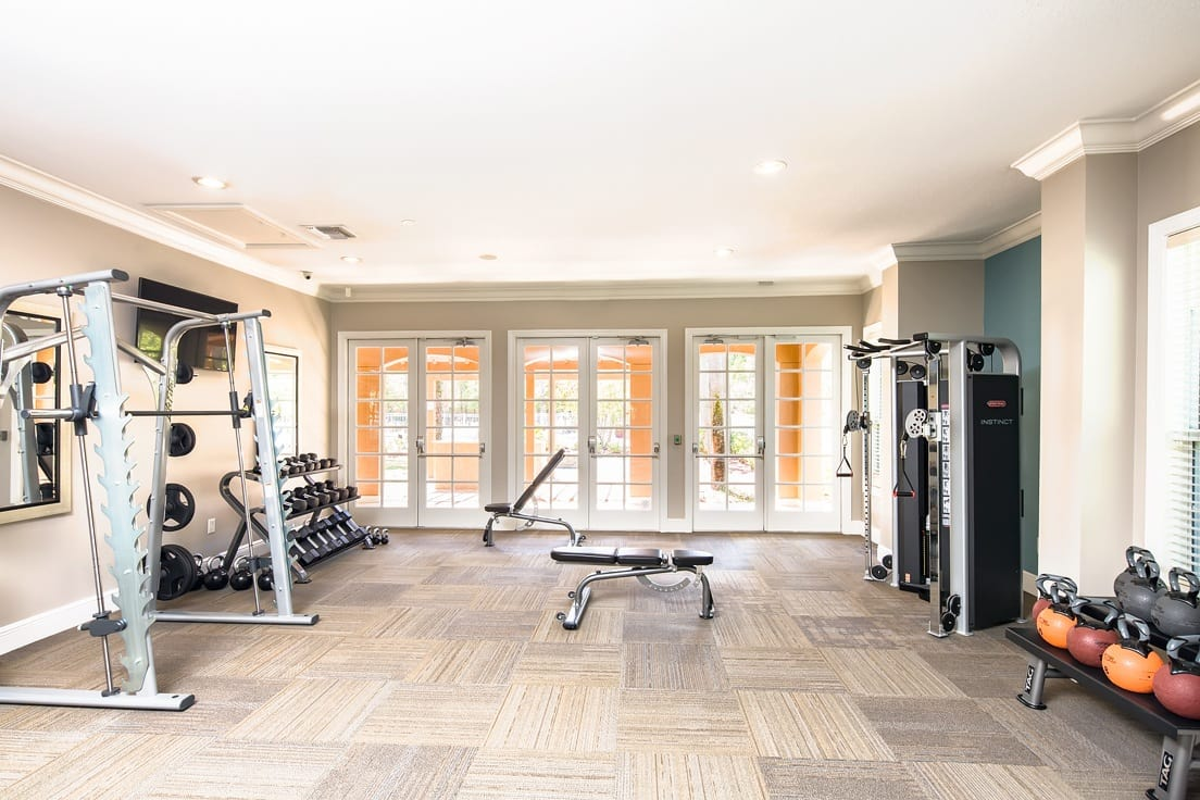 Fitness Center at Florida Club at Deerwood in Jacksonville, Florida