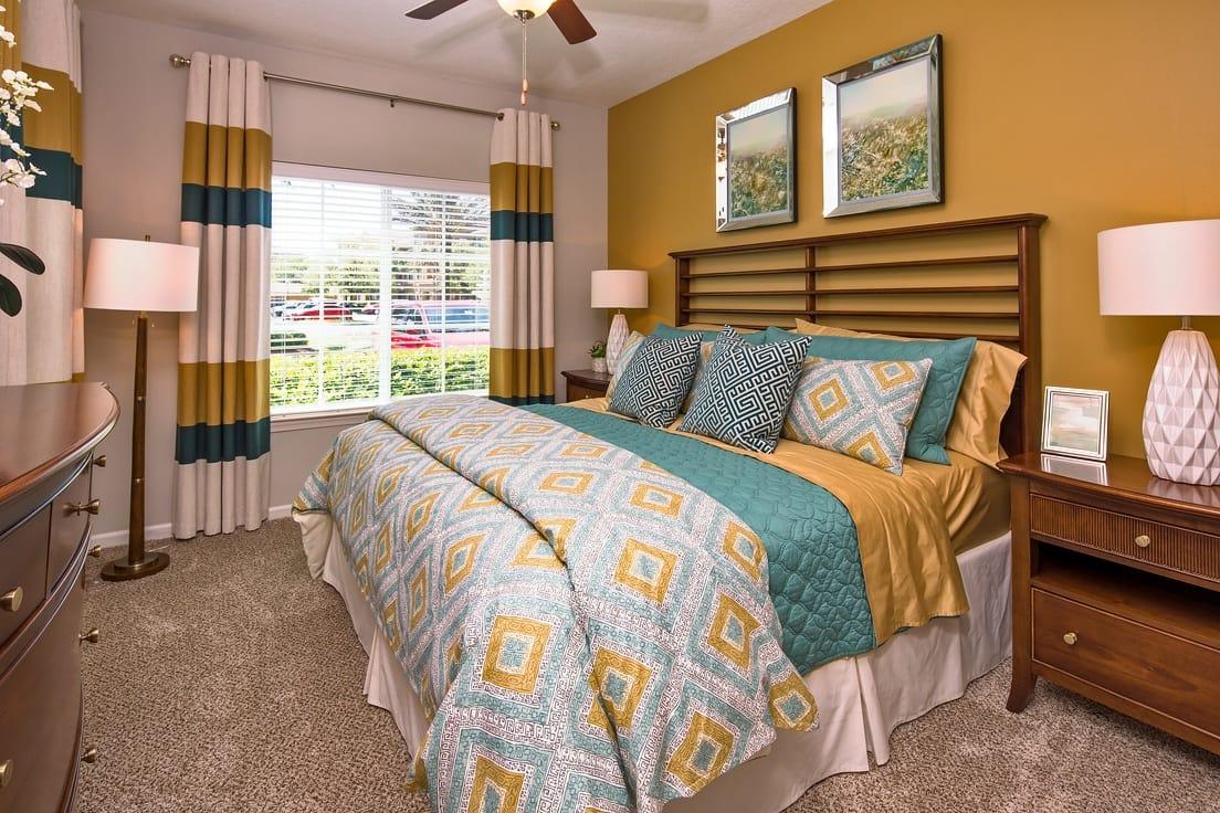 Bedroom at Florida Club at Deerwood in Jacksonville, Florida