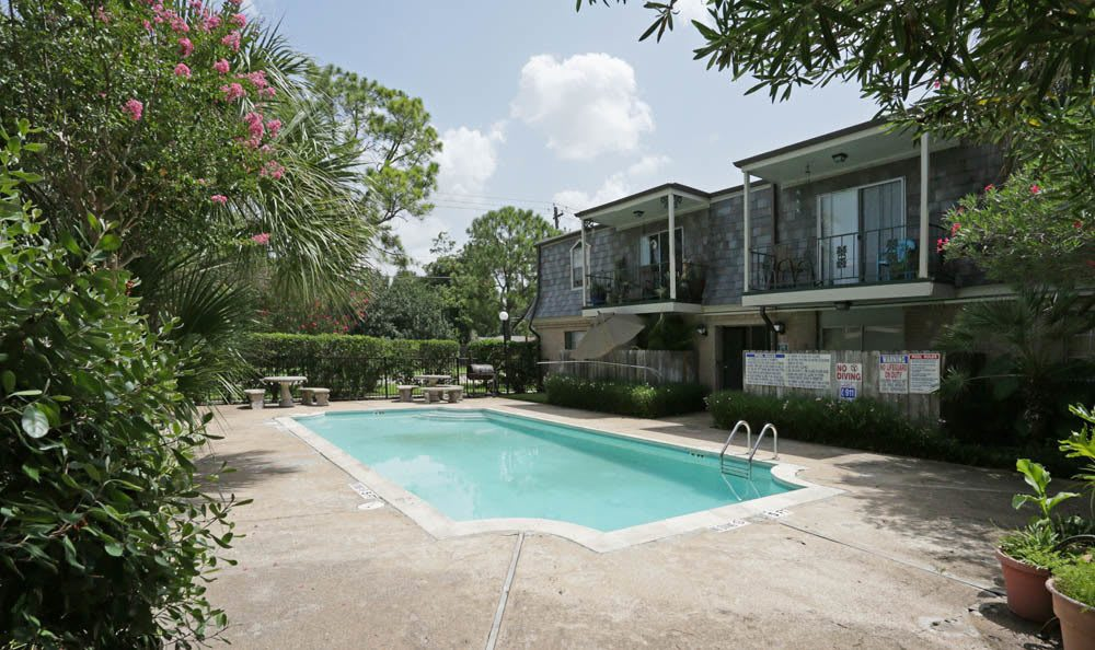 Swimming Pool at Brittany Place Apartments in Houston, Texas