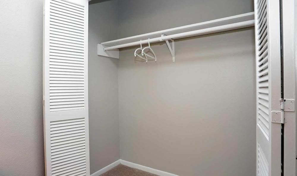 Closets at Brittany Place Apartments