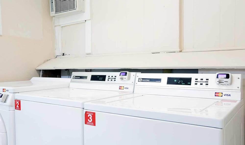 Laundry Facility at Brittany Place Apartments in Houston, Texas