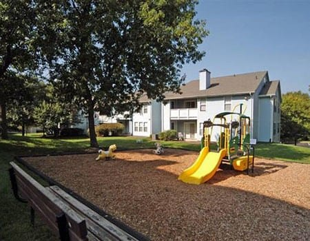 A playground for children at The Madison at Eden Brook
