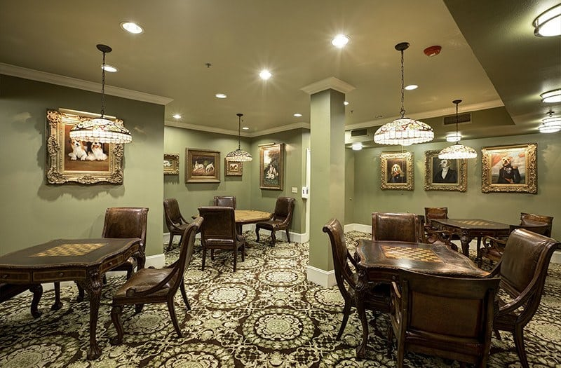 Play a game of cards with your new friends here at our senior living community in Plano, TX.