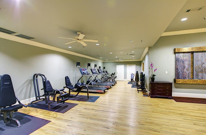 Our fitness center here at Conservatory At Plano has something for everyone.