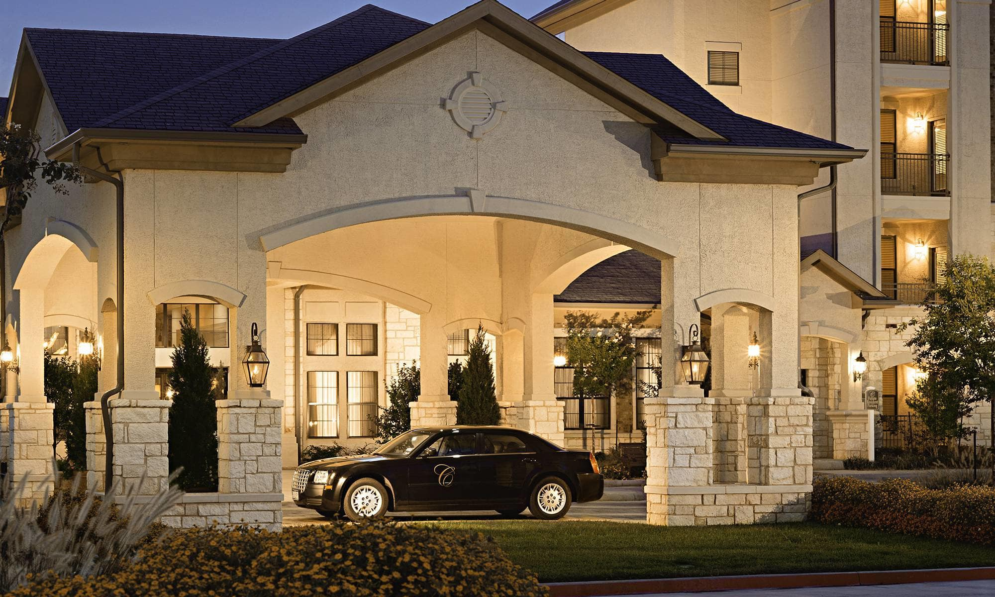 Awesome Exterior View Of The Entrance To Our Wonderful Senior Living Community In  Keller.