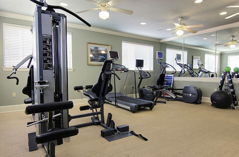 For those who prefer a more traditional workout environment, our fully equipped fitness center at Conservatory at North Austin has it all!