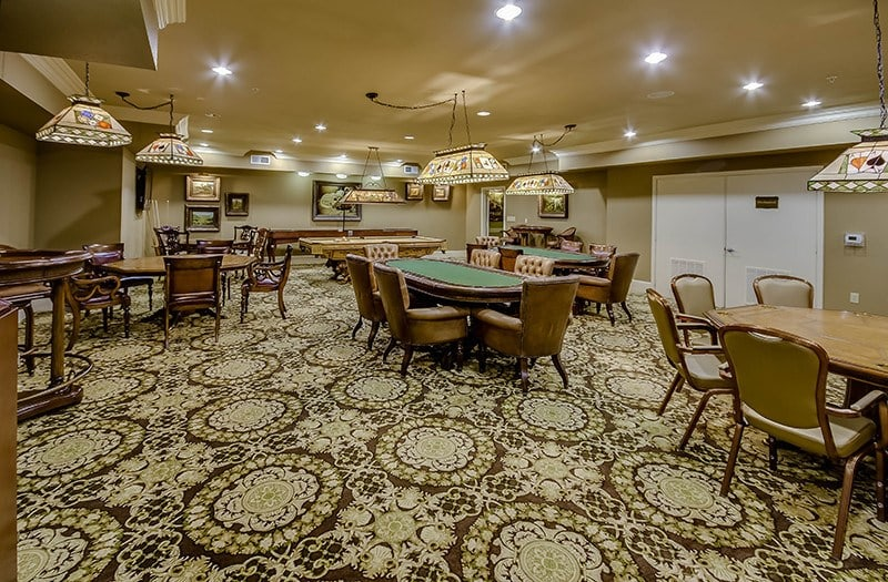 Perfect for special events, our Casino Room has hosted countless evenings full of fun at Conservatory At Champion Forest.