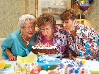 Celebrating birthdays is always an event not to be missed at Conservatory At Keller Town Center.
