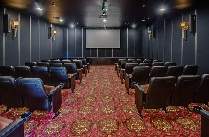 Watch a movie with your new neighbors in our cinema-like theater here at Conservatory At Alden Bridge.