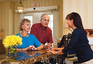 Friendly concierge services for senior living