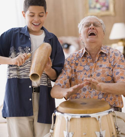 Entertain family and friends in your senior living home