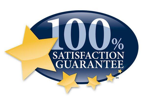 100% satisfaction guarantee on senior living
