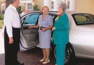 Transportation options for senior living residents
