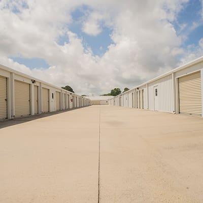 outside storage units at Virginia Beach