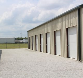 Easily Accessible Drive Up Units In Granbury