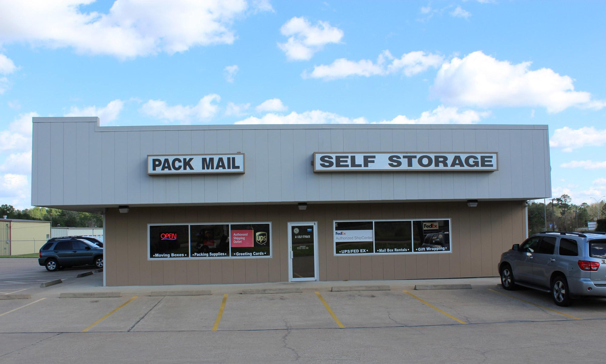 Lufkin self storage for your family