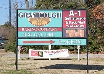 A-1 Self Storage Lufkin Billboard
