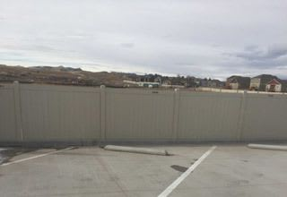 RV storage at the self storage facility in Colorado Springs