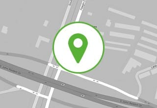 Map and directions to the self storage facility in Loveland