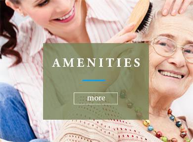 Amenities offered at Westbrook Gardens Senior Living Community in Purcell, OK