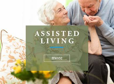 Assisted living at Westbrook Gardens Senior Living Community in Purcell