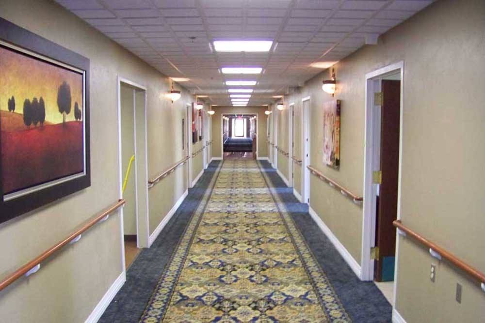 PARCway Post Acute Recovery Center hallway in Oklahoma City