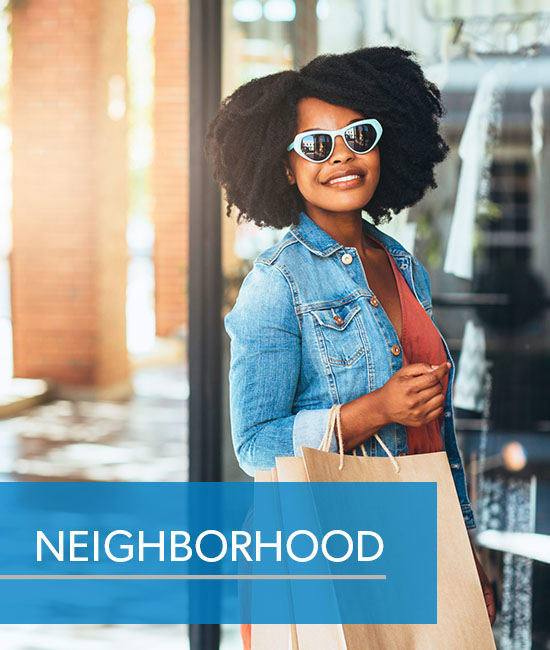 Link to neighborhood at Hickory Creek Apartments & Townhomes in Nashville, Tennessee