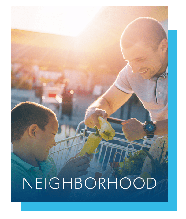 Neighborhood at The Landings Apartment Homes