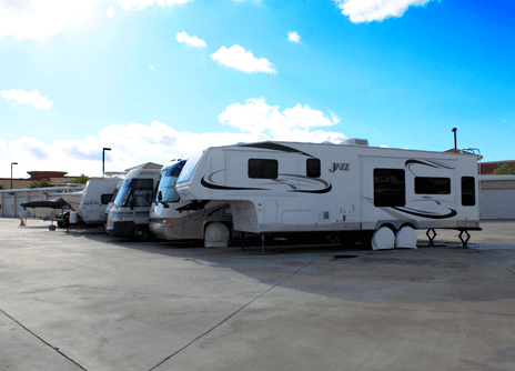 RV Storage At Chaparral Self Storage