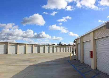 Exterior Of Chaparral Self Storage