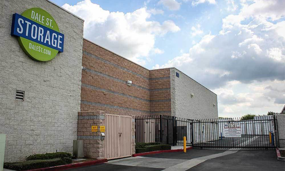 Large Buena Park Self Storage Units Are Gated
