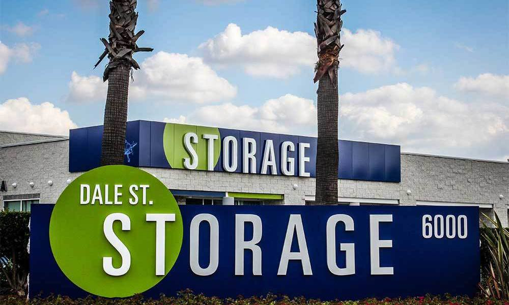 Large Front Of Buena Park Self Storage Units