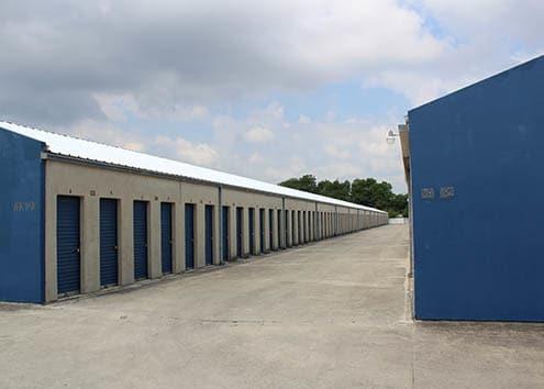 View of units at Maximum Mini Storage West Avenue