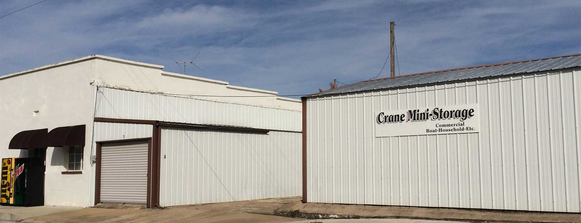 Self storage in Crane MO
