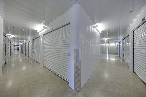 Clean and bright storage units at The Keep Storage