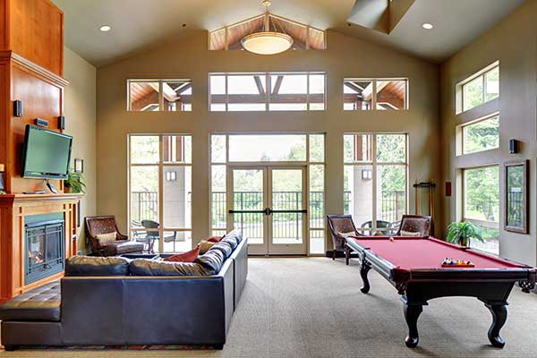 Clubhouse at Echo Lake Apartments