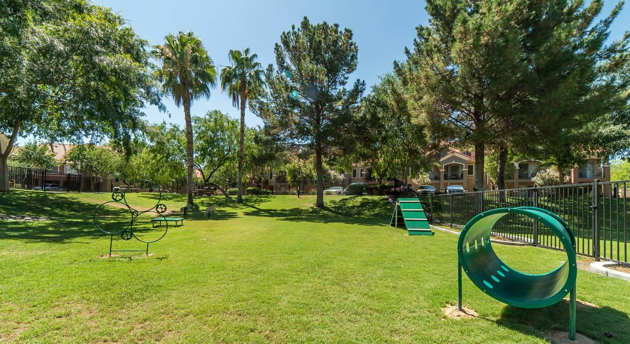Dog Park at The Catherine Townhomes at Scottsdale