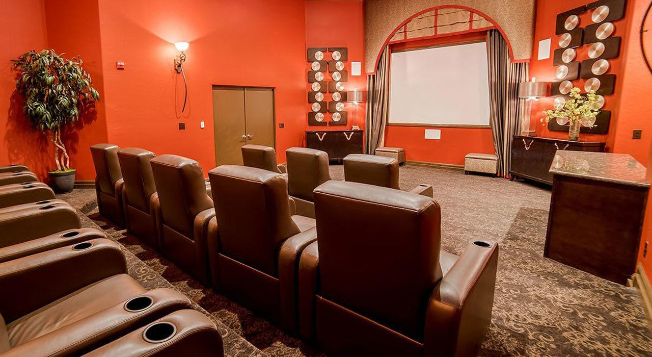 Luxury Theater Room at The Catherine Townhomes at Scottsdale