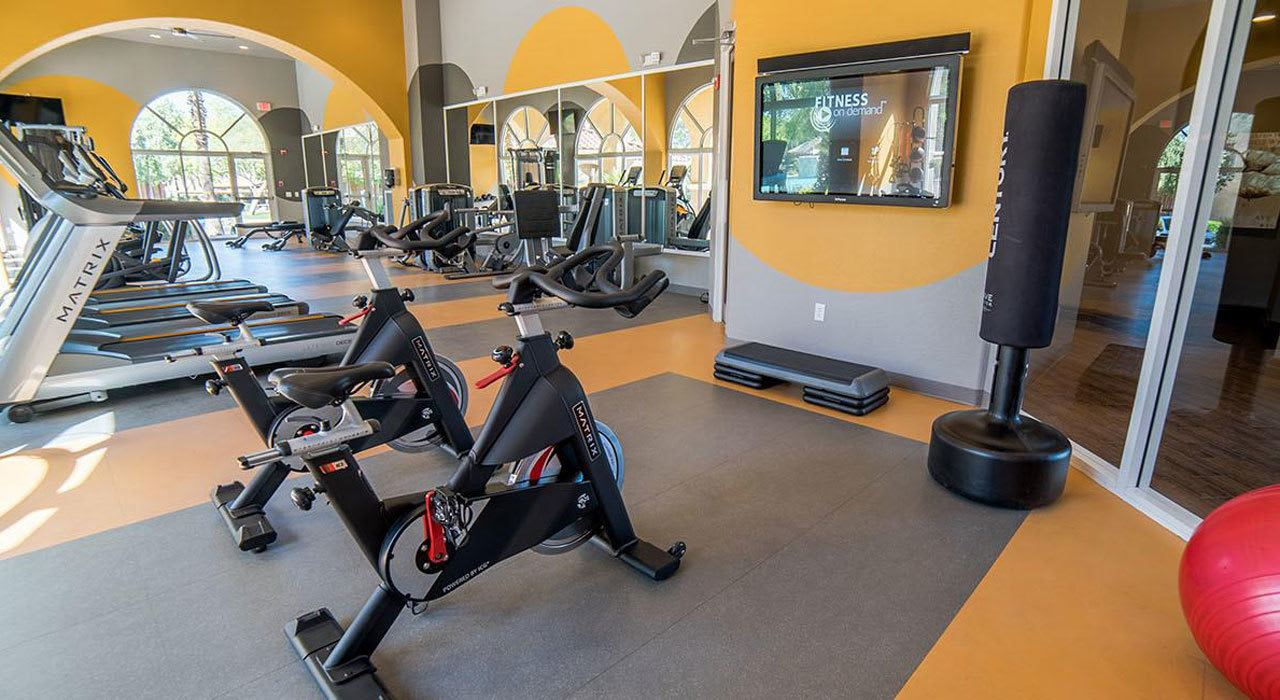 Fitness Center at The Catherine Townhomes at Scottsdale