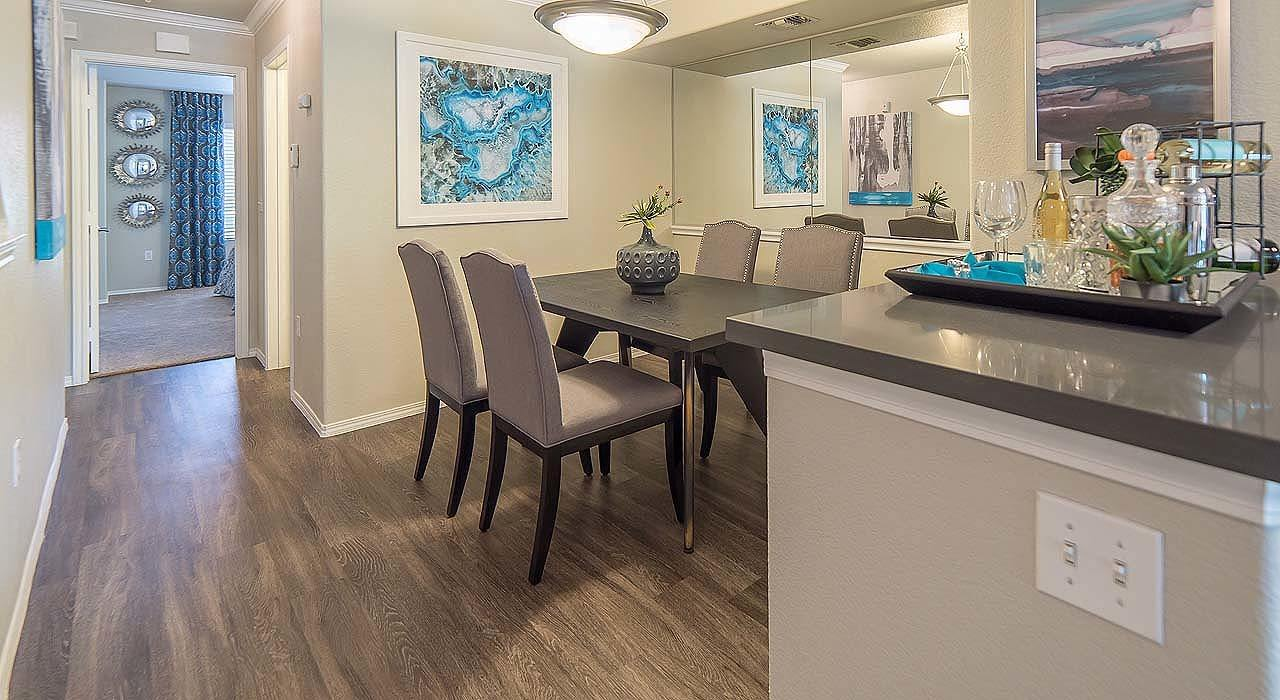 Dining Area at The Catherine Townhomes at Scottsdale