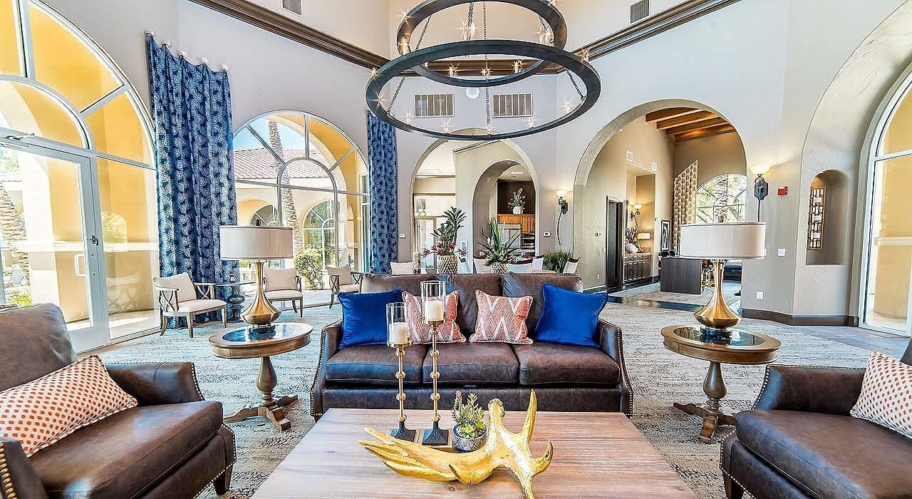 Luxurious Lobby at The Catherine Townhomes at Scottsdale