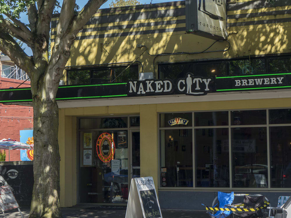 Naked City Brewery Outdoor View