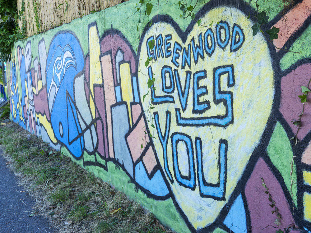 Greenwood Neighborhood Graffiti Art