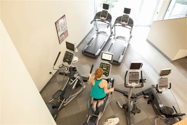Stay in shape at our luxury fitness center