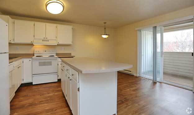 Kitchen at Aspen Apartments