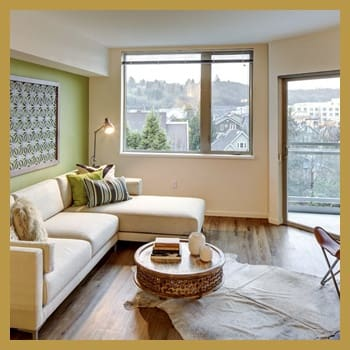 Our apartments offer uniquely styled living spaces