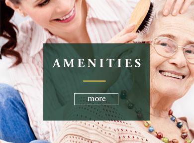Amenities at Rambling Oaks Courtyard Assisted Living Residence in Highland Village